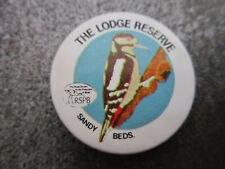 The Lodge Reserve Sandy Pin Badge Button (L14B)