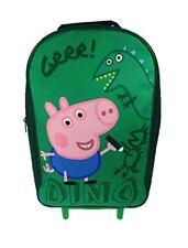 Peppa Pig Sac À roulettes pour enfant bagages 40 cm Vert