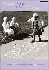 Happy 70th Birthday Greeting Card - Humour