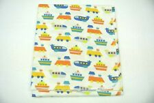 Baby Blanket Boats Airplanes Trains Can Be Personalized 36x40