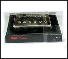DiMarzio DP259 Titan Guitar Pickup, Bridge, Nickel Cover  DP259N