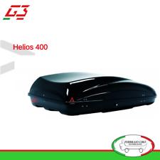 BOX BAULE UNIVERSALE PORTABAGAGLI TETTO AUTO G3 MOD.HELIOS 400 - 330 LT - 22.294