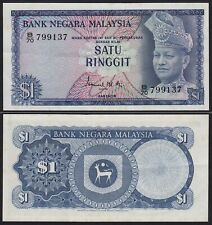 Malaysia 1 Ringgit Banknote 1967/72 Pick 1a XF (2)    (21540