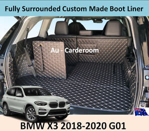 Premium Custom Made Trunk Boot Mats Liner Cargo Cover For BMW X3 2018-2020 G01