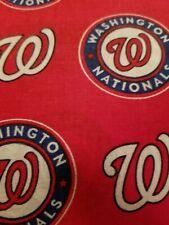 Washington National COTTON fabric  1/2 yard  18x58