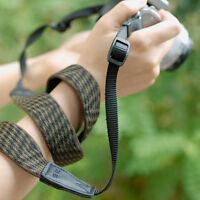 Green DSLR Camera Shoulder Neck Strap Hand Belt Fit Canon Nikon Pentax Sony Fuji
