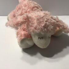 "Baby Gund Winky Pink Lamb Lovey Soft Plush Stuffed Animal Baby Rattle Doll 9"""