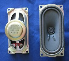 Set Philips Model TS2556 C121 Television TV Speakers YDT0613-71BP 1.5W 16 Ohms