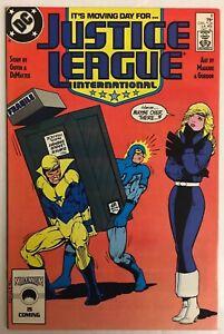 Justice League International #8 VF/NM (1987)