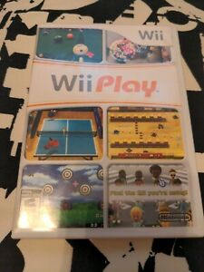 Wii Play Nintendo Wii Game Complete With Manual videogame Nintendo