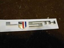 2012 CHEVROLET CAMARO 45TH ANNIVERSARY FRONT FENDER EMBLEM NAMEPLATE 92246939