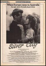 SILVER CITY__Original 1984 Trade AD promo / poster__GOSIA DOBROWOLSKA_IVAR KANTS