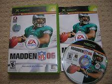MADDEN NFL 06  - Rare NTSC XBOX Game