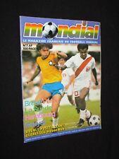 MAGAZINE MONDIAL N° 7 1977 GEORGESCU HOUSEMAN BRESIL PEROU HSV HAMBOURG KEEGAN