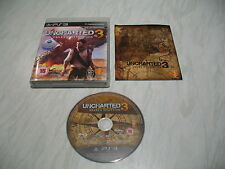Juego PS3-Uncharted 3 Drakes Deception (Buen estado Completo Pal)
