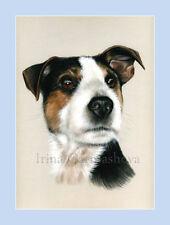 Dog Print Terrier by Irina Garmashova