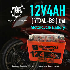 12V 4AH YTX4L-BS Gel Motorcycle Battery ATV Scooter Honda KTM Suzuki Yamaha Aeon