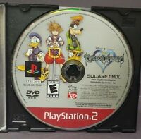 Disney Kingdom Hearts  -  Sony Playstation 2 PS2 Game Lot Tested / Working