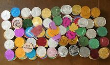 LOT OF OVER 500 MARDI GRAS DOUBLOONS COINS TOKENS