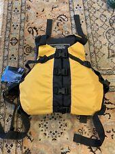 NWT Stohlquist Buoyancy Aid Yellow Life Jacket Adult Universal Plus MSRP $79.95