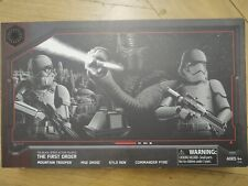"""Star Wars Black Series 6"""" The First Order Disney Galaxy's Edge Exclusive 4 pack"""