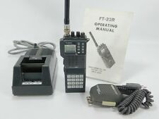 Yaesu FT-23R 2-Meter FM Handheld Transceiver + Charger + Mic + DTMF FTT-4 Keypad