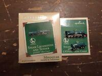 2003 Hallmark Lionel Steam Locomotive & Tender Miniature Christmas Tree Ornament
