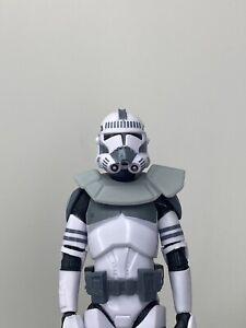 """Custom Star Wars Black series Rex Clone Trooper Realistic Pauldron 1/12 6"""""""