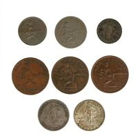 Mixed Denom Philippines Coins 1929-M 1930-M 1925-M 1931-M 1918-S 09-S 30-M 44-D