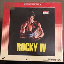 Rocky lV movie1985 Japan Extended Play laserdisc Very good condition