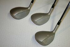 V.CHEAP GOLF CLUBS - SET OF 3.VANTAGE, DISCOVERY MKII  WOODS, STEEL SHAFTS, R/H.