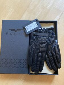 Women's Real Leather Gloves Fioretto/Size 7.5 New RRP £94.99 Ref 5