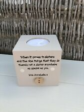 Shabby Personalised Chic Special Sister Sis Candle Gift.. Birthday Gift Present