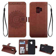 For Samsung Galaxy S9+ S8 S7 S6 Card Holder Wallet Stand Flip Leather Case Cover
