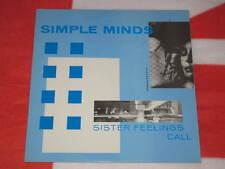 SIMPLE MINDS - Sister Feelings Call ITA Press