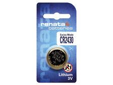 Renata CR2430 3V Pila Batteria Cell Coin replace CR BR DL ECR KCR LM ML 2430