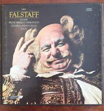Solti/Evans/Freni/Merrill/Simionato VERDI Falstaff - London OSA 1395 Near Mint