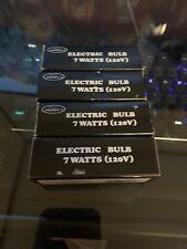 4 PACK 7 Watt Light Bulb Electric 120v