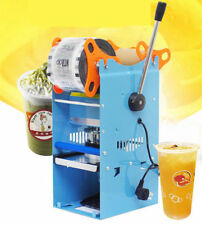 270W Electric Sealing Cup Machine Sealer Boba Bubble Tea Coffee 300-500 Cups/Hr