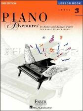 Piano Adventures Lesson Book Level 2B 2nd Edition Method Music SAME DAY DISPATCH
