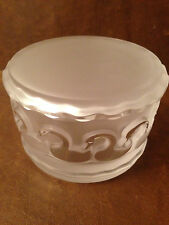 Lalique Glass Box With Swans