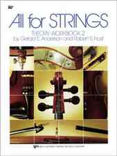 """""""All For Strings"""" Theory Workbook 2 Viola Brand New Music Book Method On Sale!"""