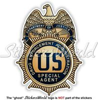 US Justice Department DRUG ENFORCEMENT ADMINISTRATION Abzeichen USA Aufkleber