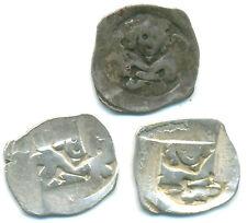 RDR-Österreich, König Friedrich, Lot v. 3 x Silberpfennig o. J. Wien