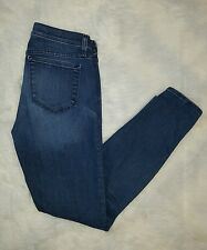 Women's J.Crew Selvedge Toothpick Skinny Jeans Size 28 Ankle Stretch Denim USA