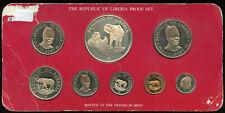 1978 Republic of Liberia Proof Set Franklin Mint