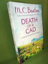 M C BEATON DEATH OF A CAD UK PAPERBACK EDITION
