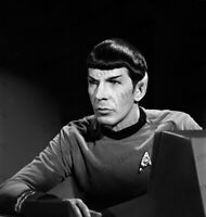 8x10 Print Leonard Nimoy Star Trek 1966 From Original Negative #1010527