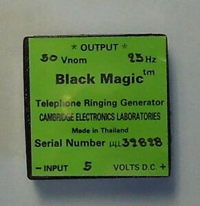 Black Magic Telephone Ringing Generator  5V