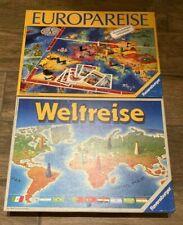Spieleset ?Weltreise? und ?Europareise? Ravensburger